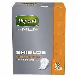 Depend Shields for Men