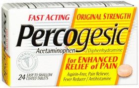 Percogesic Original Strength, 24 tablets