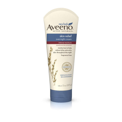 Aveeno Skin Relief Overnight Cream, 7.3 oz