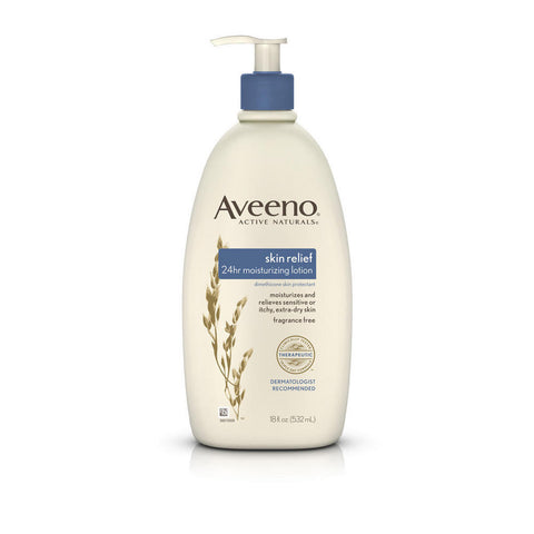 Aveeno Skin Relief 24HR Moisturizing Lotion, 18oz