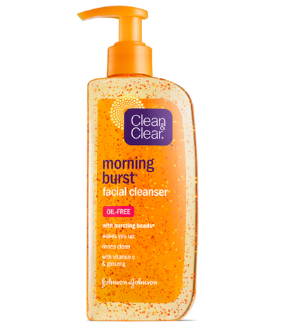 Clean & Clear Morning Burst Facial Cleanser, 8 oz