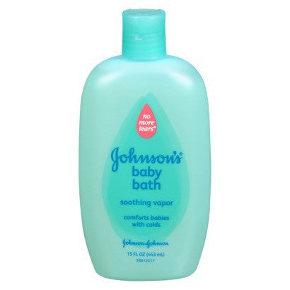 Johnson's Soothing Vapor Baby Bath, 15 oz