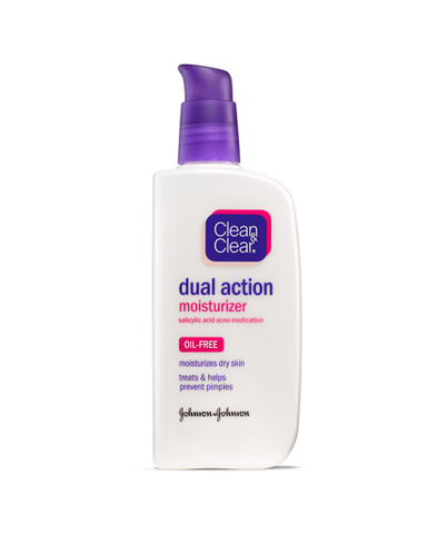 Clean & Clear ESSENTIALS Dual Action Moisturizer, 4 oz