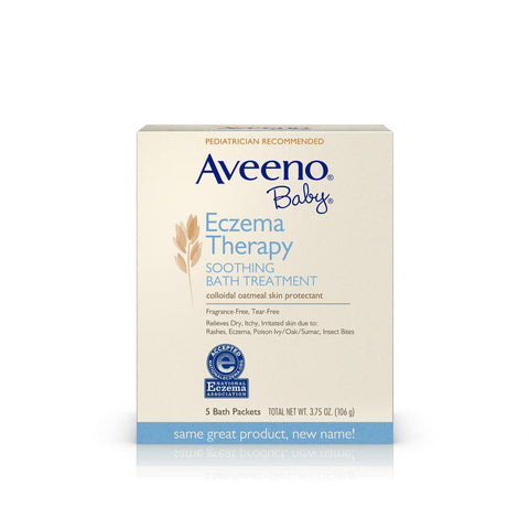 Aveeno Baby Soothing Bath Treatment, 5 packets / 3.75 oz