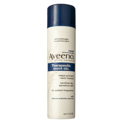Aveeno Therapeutic Shave Gel, 7 oz