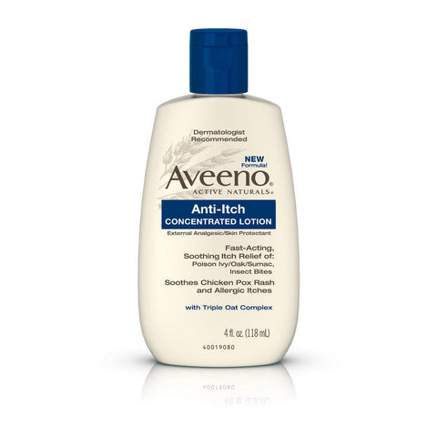 Aveeno Anti-Itch Concentrated Lotion, 4 oz