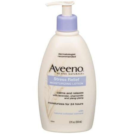Aveeno Stress Relief Moisturizing Lotion, 12oz