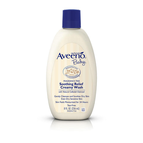 Aveeno Baby Soothing Relief Creamy Wash, 8 oz
