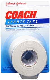 Coach Sports Tape, 1.5 inches x 10 yards
