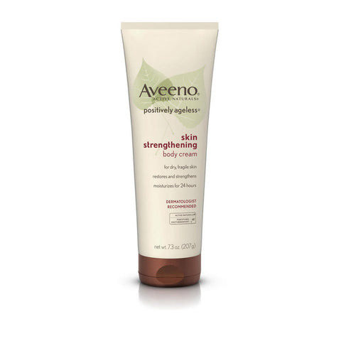 Aveeno Positively Ageless Skin Strengthening Body Cream, 7.3 oz