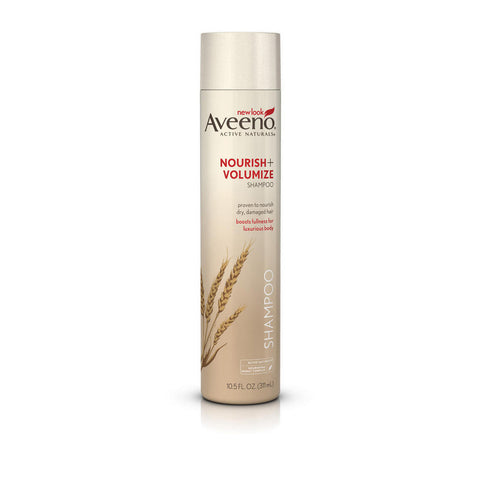 Aveeno Nourish+ Volumize Shampoo, 10.5 oz