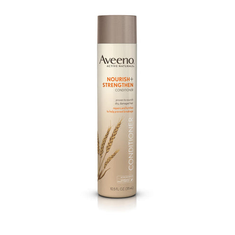 Aveeno Nourish+ Strengthen Conditioner, 10.5 oz