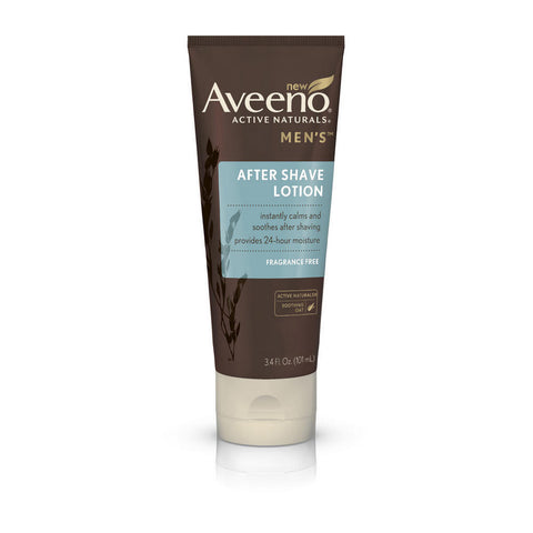 Aveeno Men's After Shave Lotion, 3.4 oz