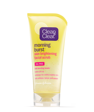 Clean & Clear Morning Burst Skin Brightening Scrub, 5 oz