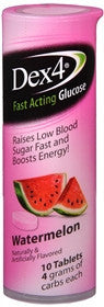 Dex4 Fast Acting Glucose, Watermelon, 10 tablets