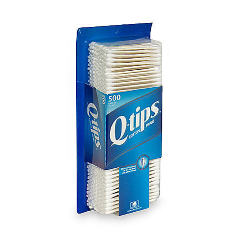 Q-Tips Cotton Swabs, 500 ea