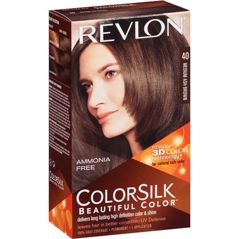 Revlon Colorsilk   Medium Ash Brown 40