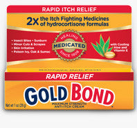 Gold Bond Medicated Anti-Itch Cream, Maximum Strength  2 oz