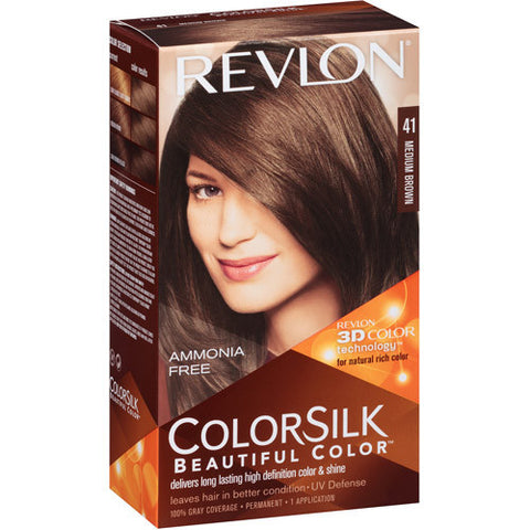 Revlon Colorsilk A  Medium Brown 41