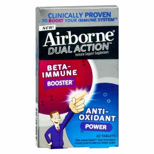 Airborne Dual Action Tablets, 20 ea - PlanetRx