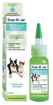 True-Dose Dental Gel Fresh for Dogs & Cats