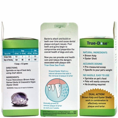 True-Dose Dental Powder Sea Fresh for Dogs & Cats