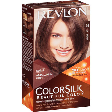 Revlon Colorsilk   Light Brown 51