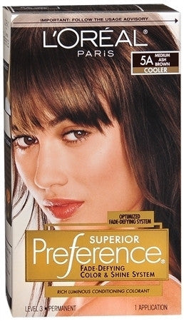L'Oreal Preference  Medium Ash Brown 5A