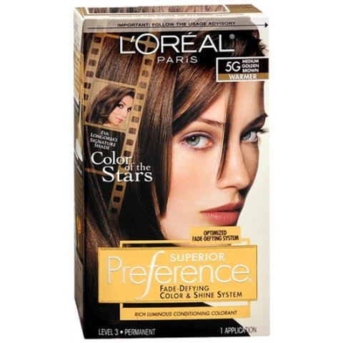 L'Oreal Preference  Medium Golden Brown 5G