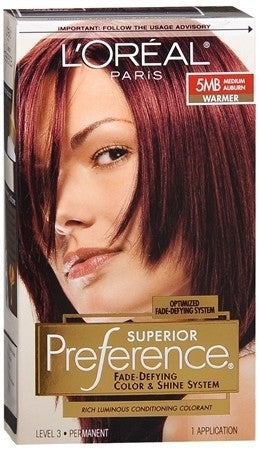L'Oreal Preference    Medium Auburn - Warmer 5MB