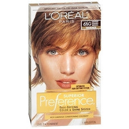 L'Oreal Preference    Lightest Golden Brown 6 1/2G