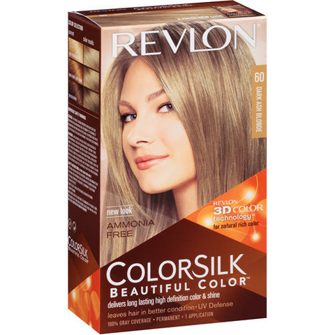 Revlon Colorsilk  Dark Ash Blonde 60