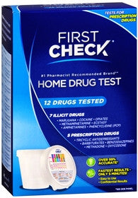 First Check Home Drug Test, 12 drugs