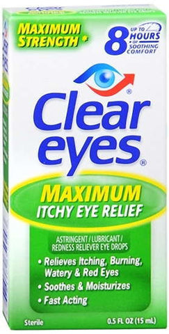 Clear Eyes ACR Seasonal Relief  Eye Drops, 0.5 oz