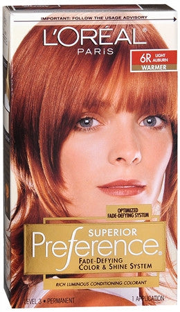L'Oreal Preference   Light Auburn 6R