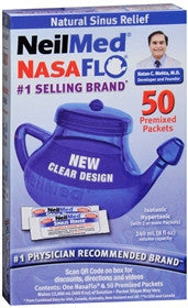 Neilmed NasaFlo Nasal Rinse Device with Packets