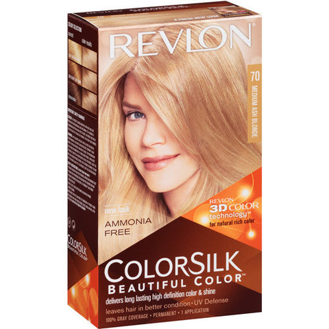 Revlon Colorsilk  Medium Ash Blonde 70