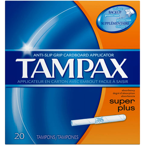 Tampax Tampons, Super Plus, 20 ea