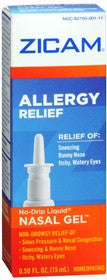 Zicam Allergy Relief Nasal Gel, 0.5 oz