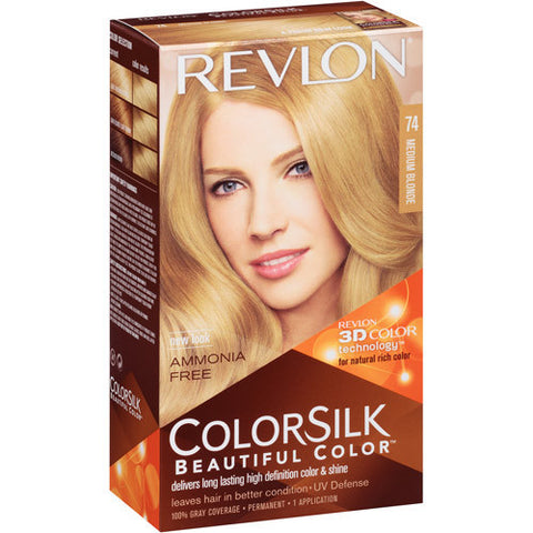 Revlon Colorsilk  Medium Blonde 74