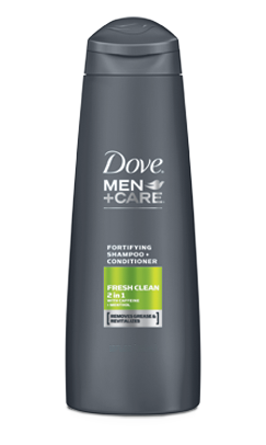 Dove Men+Care Fresh Clean Fortifying 2in1, 12oz