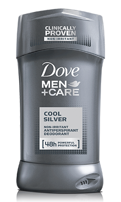 Dove Men+Care Cool Silver Antiperspirant, 2.7oz