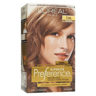 L'Oreal Preference  Dark Blonde 7