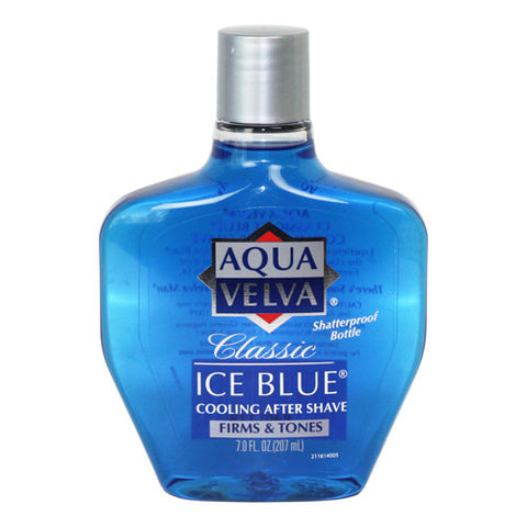 Aqua Velva Cooling After Shave, Classic Ice Blue, 7 oz