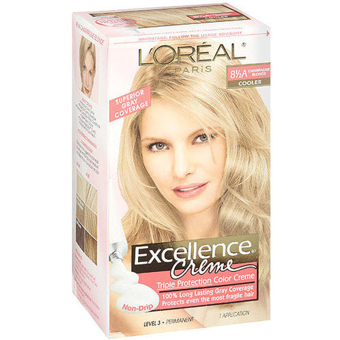 L'Oreal Excellence Creme  8.5A Champagne Blonde