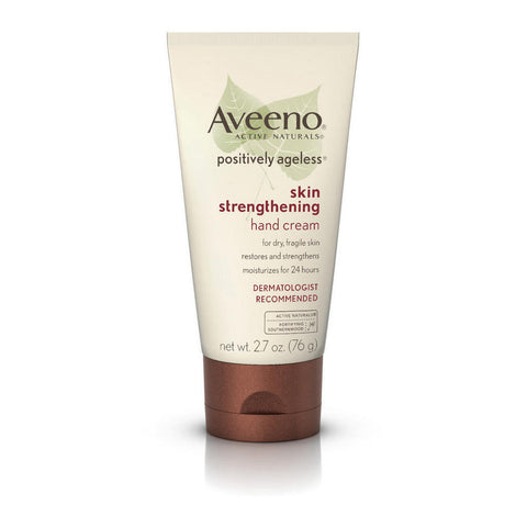 Aveeno Positively Ageless Skin Strengthening Hand Cream, 2.7 oz