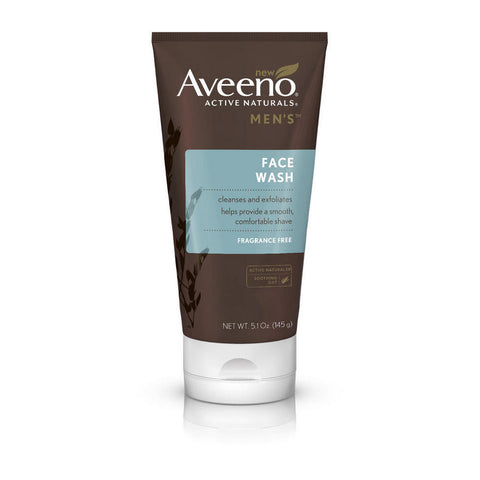 Aveeno Men's Face Wash, 5.1 oz