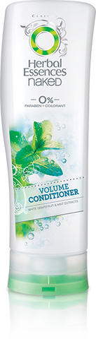Herbal Essences Naked Volume Conditioner, 10 oz