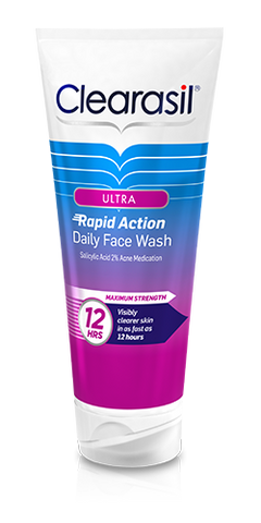 Clearasil Ultra Daily Face Wash, 6.78 oz