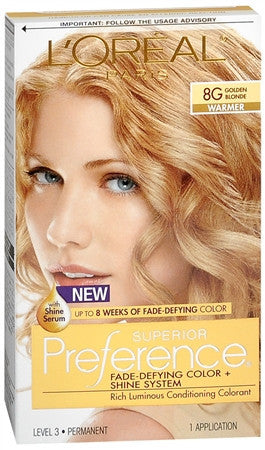 L'Oreal Preference   Golden Blonde 8G